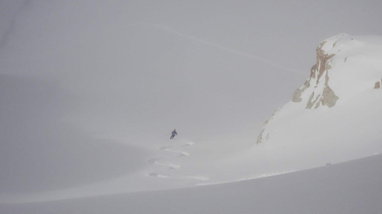 descente du glacier de la Glière. Helyum.ch