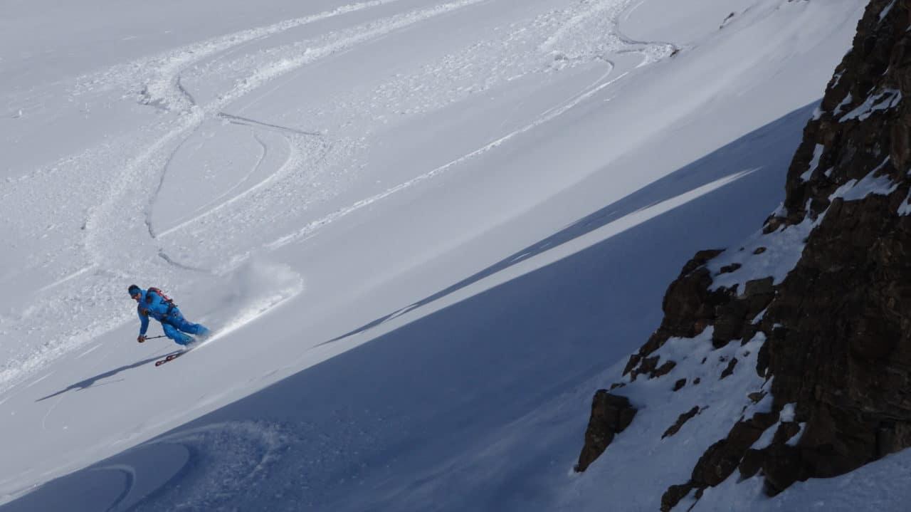 Antoine Cuenoud, ski à Leukerbad. Helyum.ch