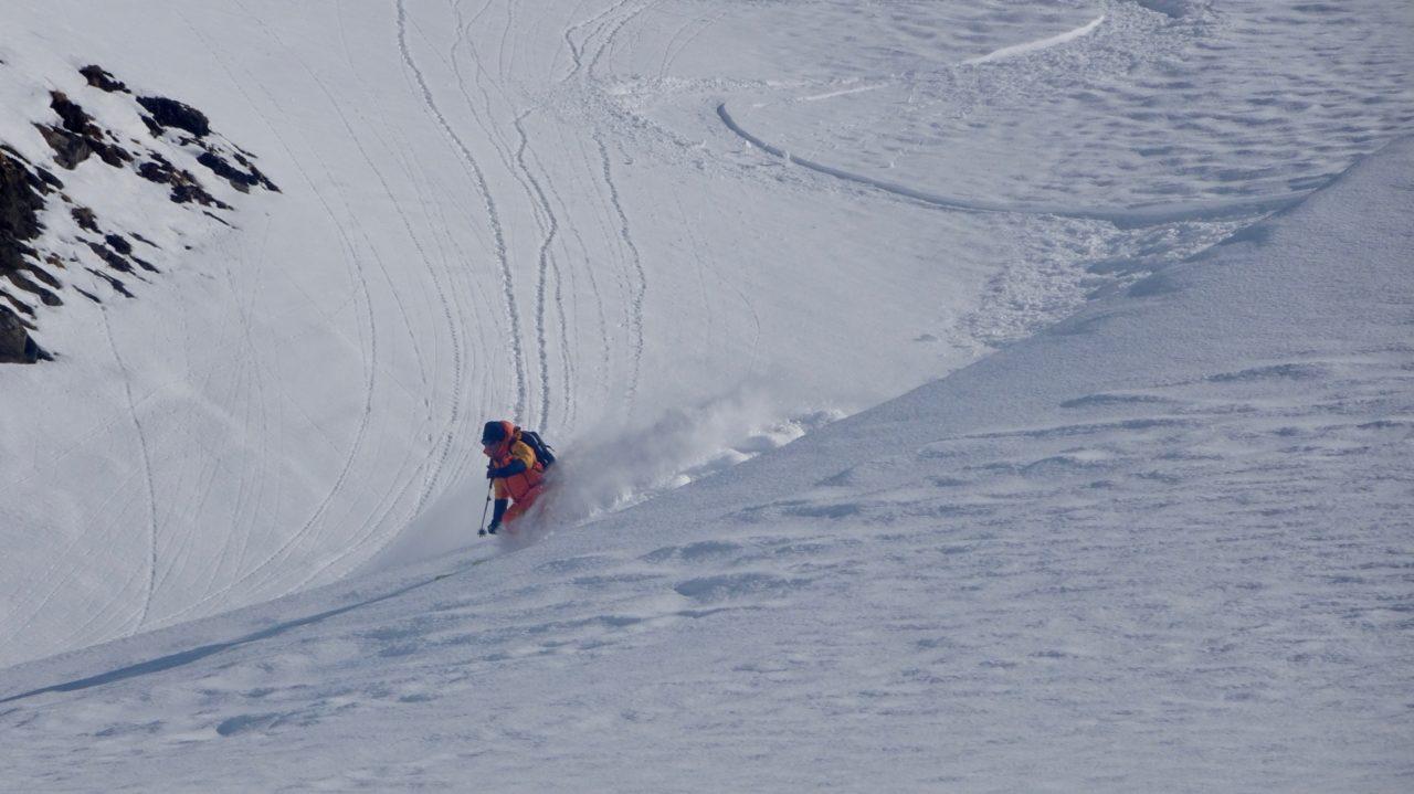 Leukerbad ski Matthieu cuenoud