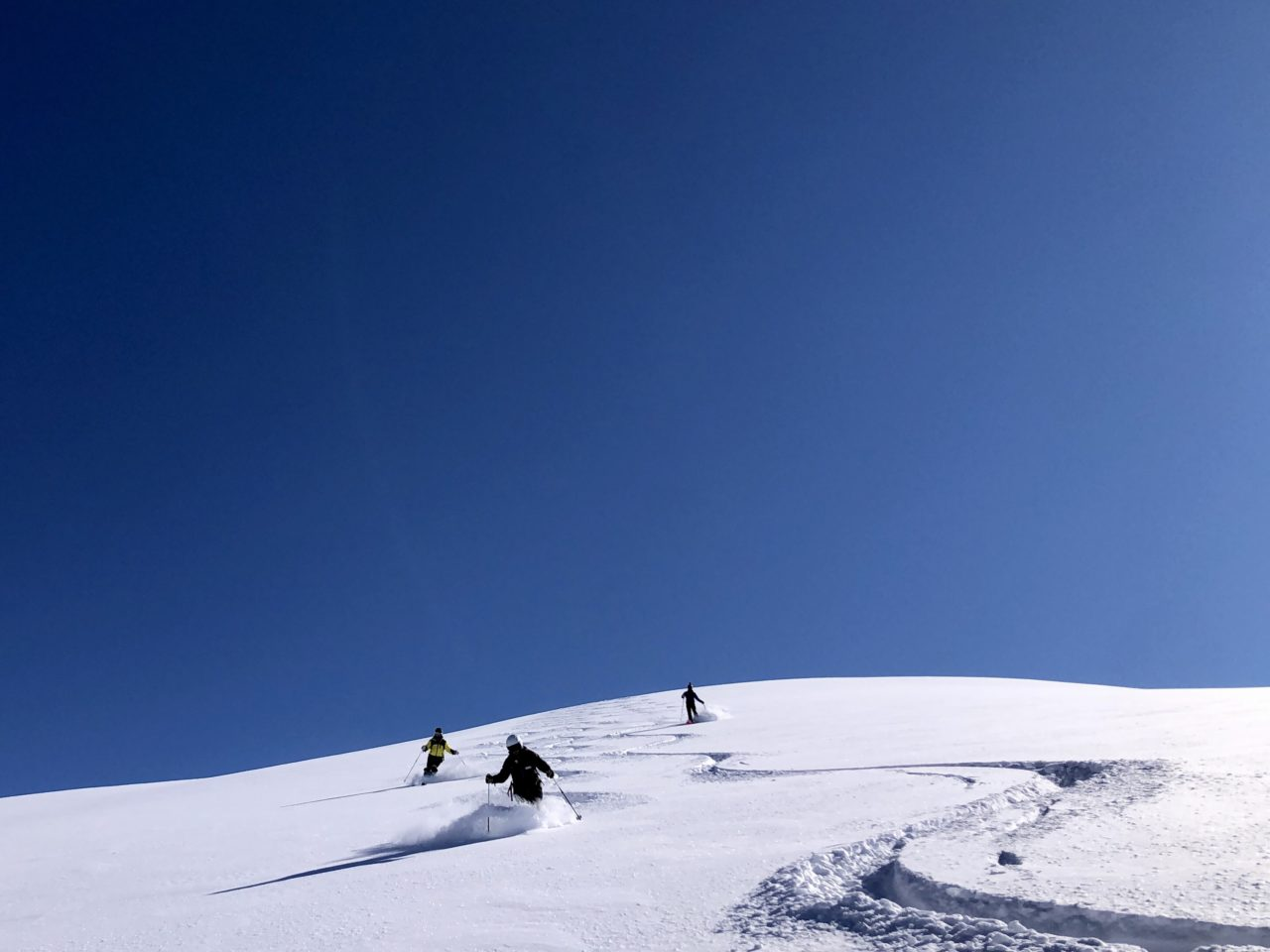 Héliski en Turquie avec Yann Nussbaumer guide de montagne chez Helyum