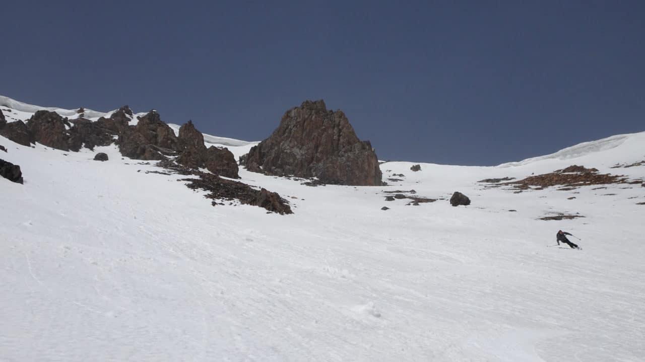 Ski de orntemps dans les pentes kirghiz. Helyum.ch