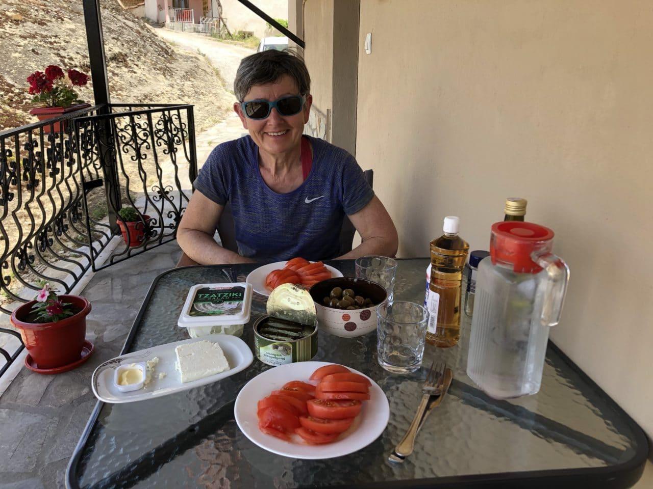 Escalade dans les Météores (Meteora) en Grèce avec Yann Nussbaumer guide de montagne chez Helyum (helyum.ch)