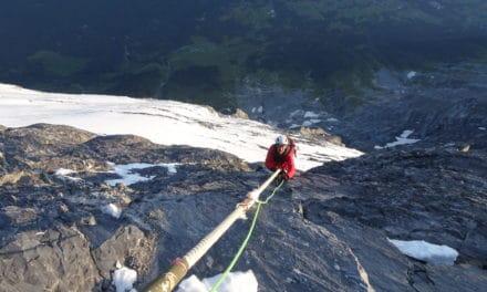 Eiger : Intégrale de l'arête Mittellegi en vidéo