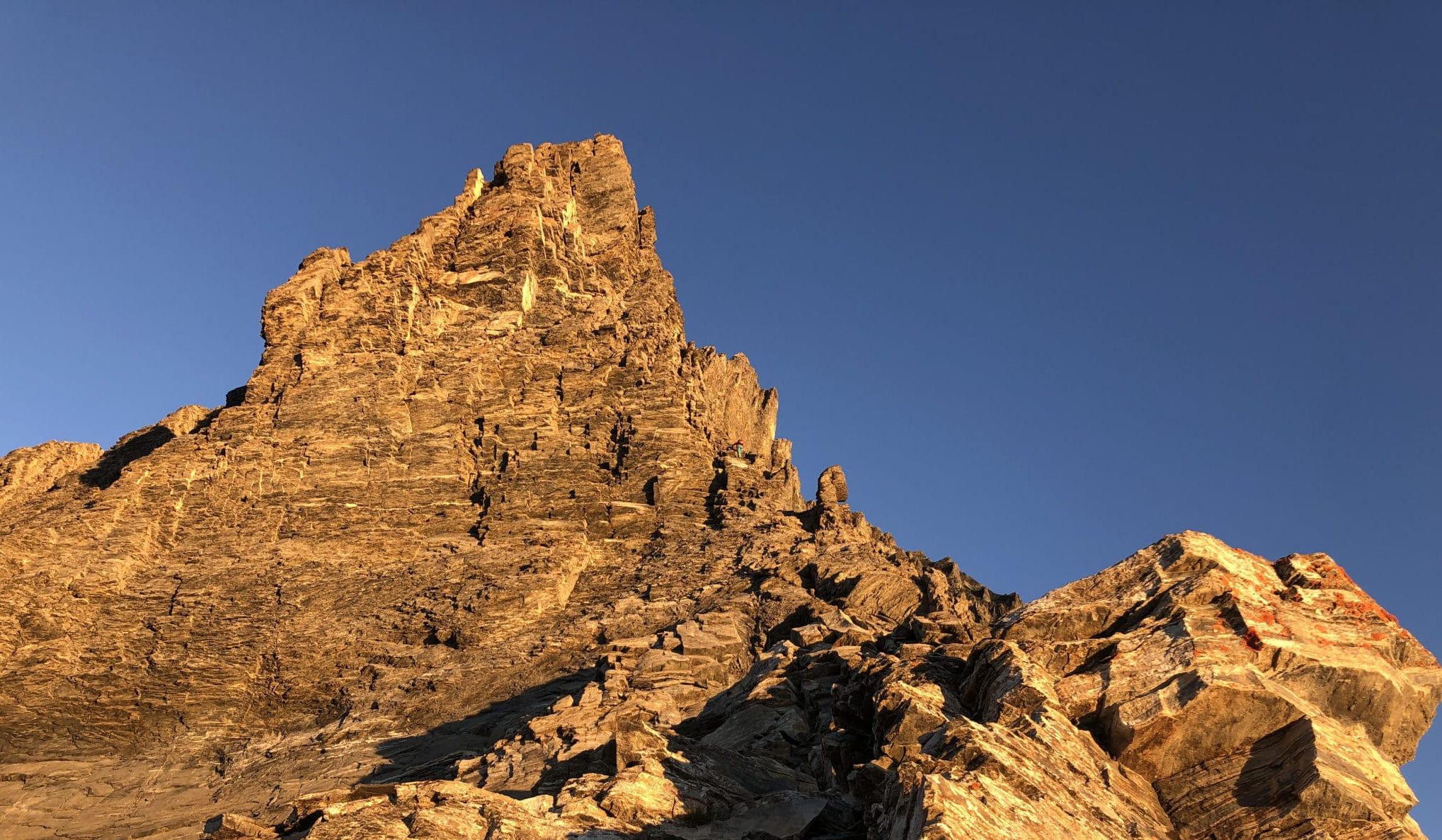 Balmhorn 3698m – Traversée  Gitzigrat- Zackengrat