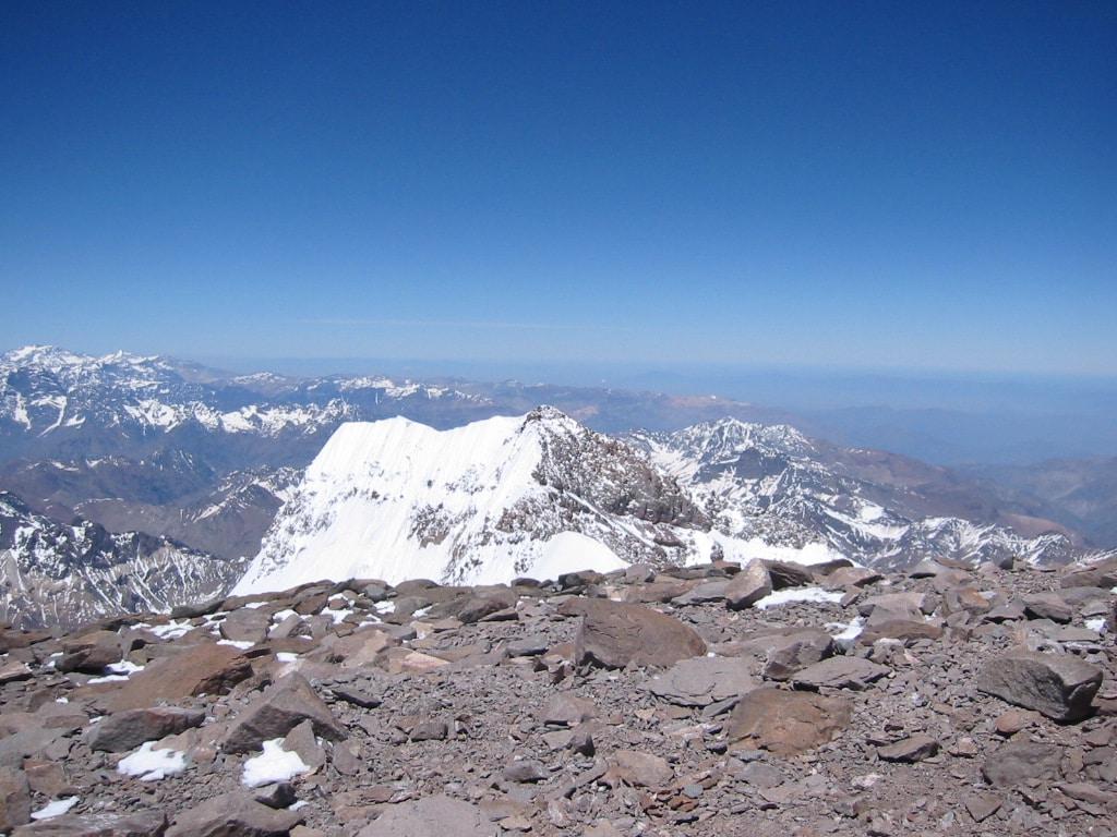 Helyum.ch. Sommet de l'Aconcagua