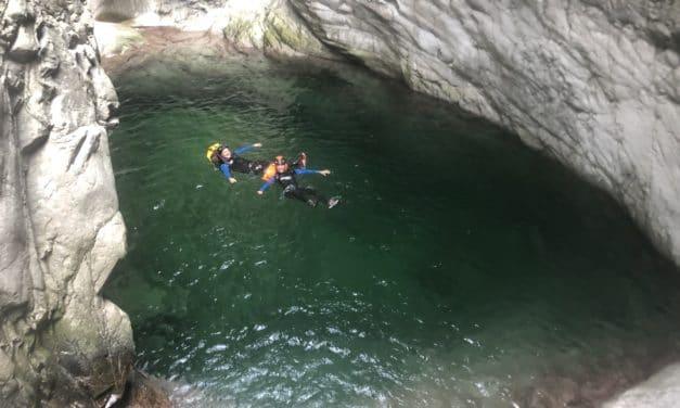 Grimpe et canyoning sur l'Île de beauté