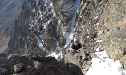 Mont Viso Arête Est en vidéo